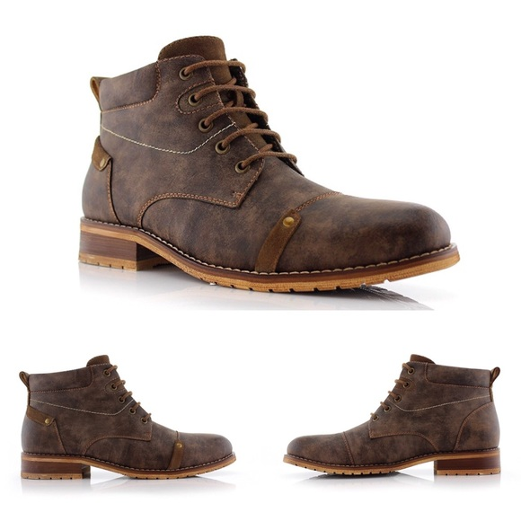 Mens Black Dress Shoes Nubuck Ferro Aldo Snipe Toe Lace Up Leather Lining Modern